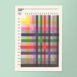 Risograph Colour Chart