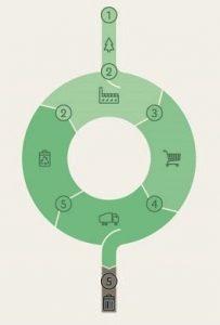 Flowchart of a Circular Economy