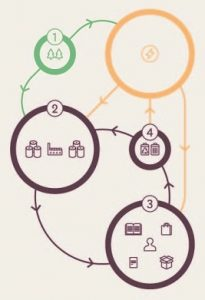A Flowchart Showing Paper in a Circular Economy