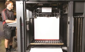 offset printing set up