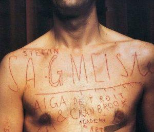 Sagmeister human canvas