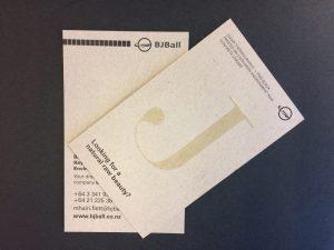 Environment Concrete Business Card