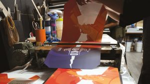 laminating the cover - case binding